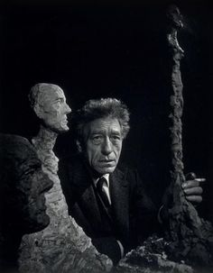 Yousuf Karsh - Alberto Giacometti, 1956 offered by Robert Klein Gallery on InCollect Photography For Sale, Artistic Photography, White Photography, Fine Art Photography, Alberto Giacometti, Robert Klein, Yousuf Karsh, Georgia O'keeffe, Alexander Calder