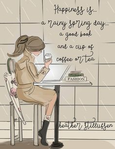 The Heather Stillufsen Collection from Rose HIll Designs on Facebook, Instagram and shop on Etsy. All Illustrations and quotes copyright protected