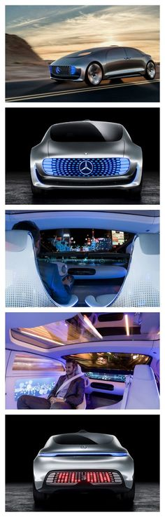 WOW! 10 of the Coolest New Car Tech & Gadget Trends. Some of these will blow your mind! Especially this Mercedes F015...