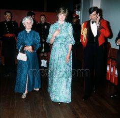 1981-06-27 Diana at the Edinburgh Military Tattoo in Wembley