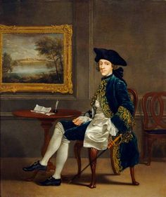 John Conyers (1717–1775), Francis Hayman, painted 1725-1750. English Heritage, Marble Hill House