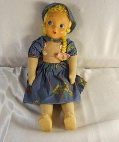 vintage polish doll