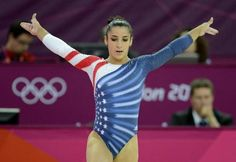 Aly Raisman won the women's floor exercise on Tuesday, the first time a U.S. woman has claimed the gold medal in the event. Raisman also won the bronze in the balance beam competition.