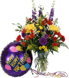 Best Birthday Flowers Images :: Birthday Wishes & Bouquet Delivery - Latest Collection of Happy Birthday Wishes Happy Birthday Barbara, Happy Birthday In Spanish, Happy Birthday Images, Happy Birthday Wishes, Birthday Photos, Birthday Greetings, Flower Images, Flower Pictures, Wedding Anniversary Wishes