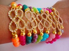 pulsera multicolores