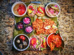Best Restaurants in Merida Mexico: Prospe del Xtup Platter