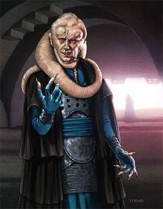 chris whetzel art star wars | Bib Fortuna""