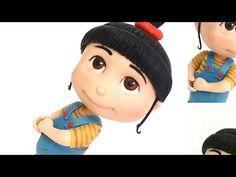 DIY ♡  modelagem da Agnes (Parte 1/4) - Meu malvado favorito em biscuit