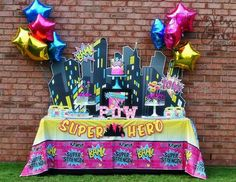 Ideas para un cumpleaños de Superhero girls http://tutusparafiestas.com/ideas-cumpleanos-superhero-girls/ #cumpleañosdesuperherogirls #fiestadesuperheroeparaniña #fiestadesuperherogirls #ideasparauncumplede heroina #IdeasparauncumpleañosdeSuperherogirls #Ideasparaunafiestadeheroina