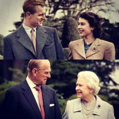 Queen Elizabeth  Prince Phillip - Nearly 65 years of marriage.