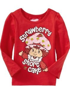 Strawberry Shortcake Tees for Baby available now on OldNavy.com