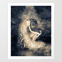 introvert. Art Print by Viviana Gonzalez - $19.95