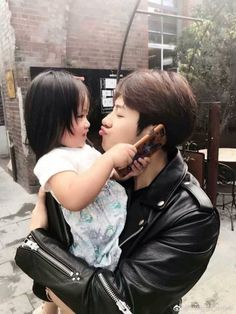 Jackson with his niece Aimee ❤️