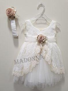 19K179 Little Dresses, Girls Dresses, Flower Girl Dresses, Borders And Frames, 3 Years, Little Girls, Wedding Dresses, Birthday, Fashion