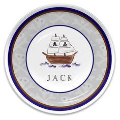 Ahoy Matey Children's Melamine Plate