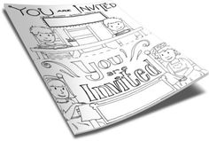 Help Kids Invite Their Friends To Church Perfect for: -Children's Church -Sunday School -Homeschool -Christian Education Just click the green add to cart butto Sunday School Kids, Sunday School Lessons, Childrens Ministry Deals, Ministry Ideas, Children Ministry, Free Bible Coloring Pages, Kids Church Lessons, Church Activities, Youth Activities