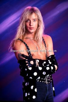 Jani Lane, R.I.P Hair Metal Bands, 80s Hair Bands, Jani Lane, Glam Metal, Steve Perry, Rock Of Ages, Glam Hair, Rock Legends, Very Long Hair