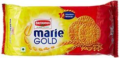 Britannia Industries Limited is India's most trusted food brand with a diverse range of portfolio of products in cakes, biscuits, bread and dairy categories. Each Marie Gold biscuit is crisp and Gourmet Recipes, Snack Recipes, Snacks, Gourmet Foods, Retail Store Design, How To Make Tea, Vitamins And Minerals, Food Items, Cupcake Cakes