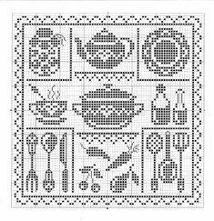 Filet Crochet Charts, Afghan Crochet Patterns, Crochet Stitches, Beaded Cross Stitch, Cross Stitch Embroidery, Cross Stitch Designs, Cross Stitch Patterns, Cross Stitch Silhouette, Crochet Vintage