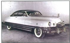 1948 Packard Monte Carlo concept by Richard Arbib