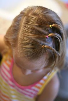 Tons of great hairstyles for girls, including growing out bangs. I wish I was a … Tons of great hairstyles for girls, including growing out bangs. I wish I was a hairstylist… This hairstyle is great fGreat Stylish Braided PonTons of Leg Tattoos That Baby Girl Hairstyles, Hairstyles For School, Cute Hairstyles, Toddler Hairstyles, Short Haircuts, Kids Hairstyle, Hairstyle Short, Braid Hairstyles, Natural Hairstyles