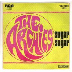 Sugar Sugar - The Archies (Lyrics)