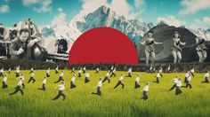 The Collages of Joseba Elorza Set in Motion for Air Reviews Young