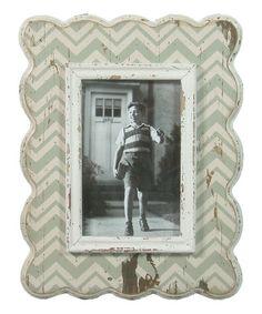 Loving this Gray Zigzag Frame on #zulily! #zulilyfinds
