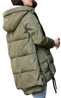 Orolay Womens Thickened Down Jacket Super soft super light L MSRP $246.99 #Orolay #ThickenedDownJacket