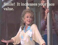 "Steel Magnolias- i like it when truvy also says, ""there's no such thing as natural beauty"""