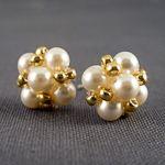 Vintage Inspired Pearl Earrings