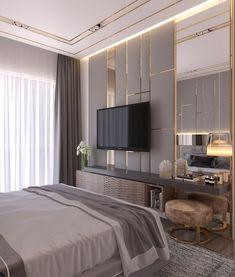 Contemporary Bedroom Interior Design That Very Cozy 13 Crystal