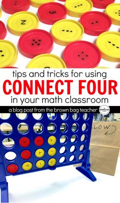 Using math centers during Guided Math each day, I feel like I am always looking for simple centers that are easy to differentiate. This idea for using Connect 4 to add to 10, 15, and 20 is so smart and EASY to do! Plus, there are FREE visual directions ready to go.