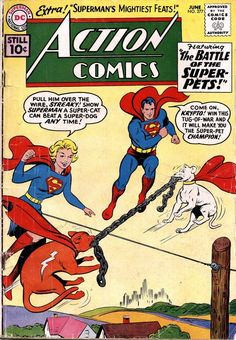 Action Comics #277, June 1961, cover by Curt Swan and Stan Kaye