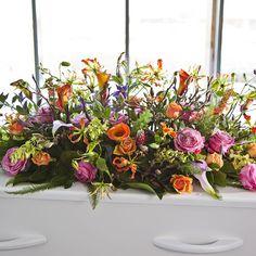 Funeral Arrangements, Silk Flower Arrangements, Flower Centerpieces, Casket Sprays, Funeral Flowers, Silk Flowers, Bunt, Floral Wreath, Bloom