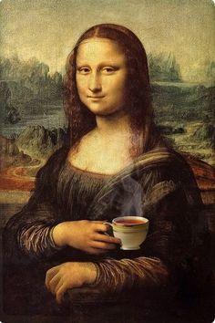 Mona Friends, La Madone, Mona Lisa Parody, Mona Lisa Smile, Renaissance Artists, Funny Art, Pictures To Paint, Scary Art, New Art