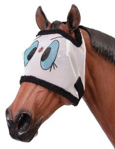 Mesh 'Lady Bug'  Draft size Fly Mask (also available in Mini!) only at tinashorsetack.com!