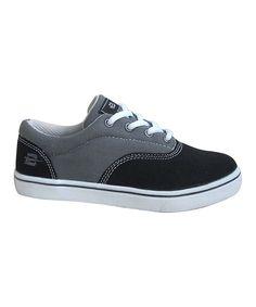 Black & Gray Saddle Sneaker