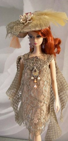 Barbie dolls holds, all aspects traditional wooden residences to actually Barbie Dreamhouses. Barbie Life, Barbie World, Barbie And Ken, Barbie Fashion Royalty, Fashion Dolls, Barbie Gowns, Lace Outfit, Barbie Collection, Vintage Barbie