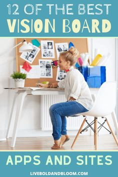 In the past, you needed to physically construct a vision board, typically using a large piece of poster board.  Thanks to modern technology, you don't have to complete an arts and crafts project to visualize your goals. #personalgrowth #vision #mindfulness #goals #personaldevelopment Self Esteem Activities, Passion Quotes, Building Self Esteem, Self Esteem Quotes, Creating A Vision Board, Life Plan, Arts And Crafts Projects, Life Purpose, Personal Development