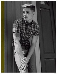 Kult Magazine Features 1950s Inspired Mens Styles for Latest Photo Spread image Kult Fashion Photo Shoot 1950s Mens Styles 016