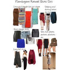 Flamboyant Natural Skirts: Do's