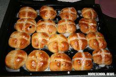 Hot Cross Buns, Karfreitag, Good Friday, Homeschool News, Jan und Bernice Zieba