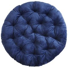 Papasan Cushion - Plush Nautical Blue | Pier 1 Imports