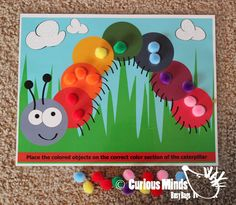 Busy Bag learning activity for Toddlers by CuriousMindsBusyBags, $5.00