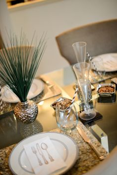 A touch of green on the Table