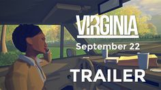 Virginia the low poly Twin Peaks inspired game I'm contributing to has a trailer