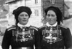 Norwegian girls from Setesdal