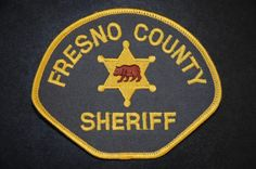 Fresno County Sheriff Patch, California