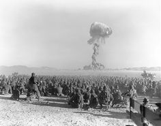 Scientists conducted first atomic bomb test in 1951, last in '92 #nevada #nv150 #history